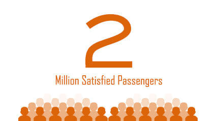 Orange Tours & Travels - Two Million Satisfied Customers