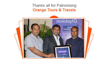 Orange Tours & Travels - HolidayIQ Award